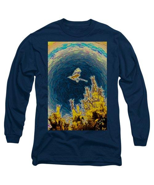 Bluejay Gone Wild Long Sleeve T-Shirt