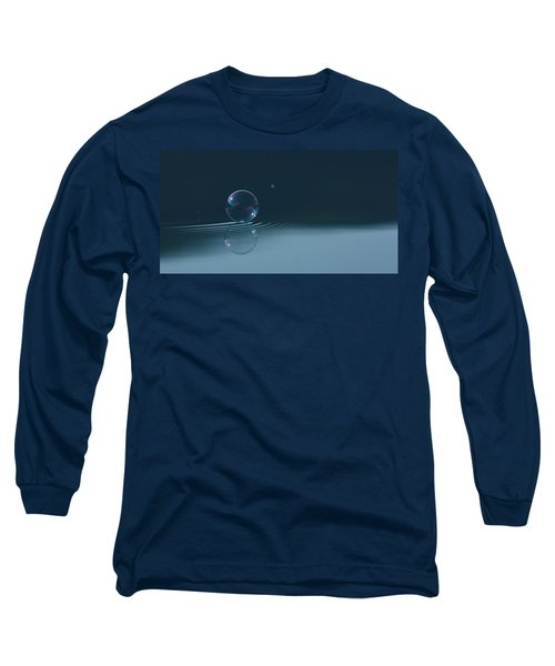 Bubble Ripples Long Sleeve T-Shirt by Cathie Douglas