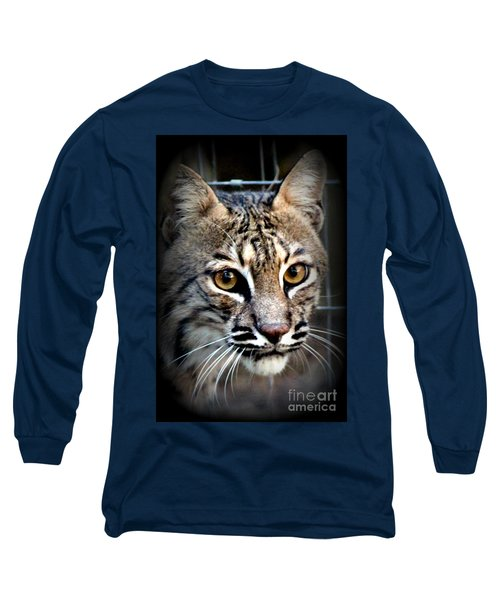 Long Sleeve T-Shirt featuring the photograph Cat Fever by Kathy  White
