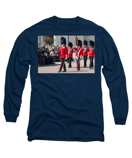 Changing Of The Guard At Buckingham Palace Long Sleeve T-Shirt