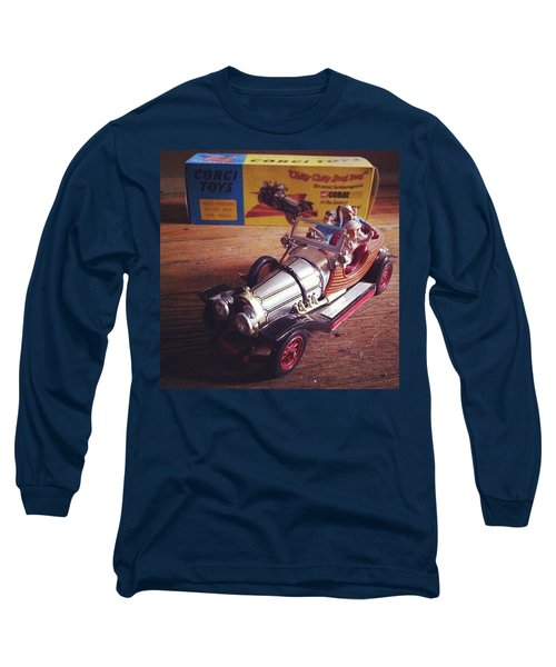 Chitty Chitty Bang Bang Corgi Toy Long Sleeve T-Shirt