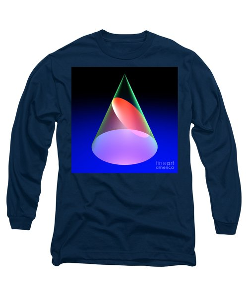 Conic Section Ellipse 6 Long Sleeve T-Shirt