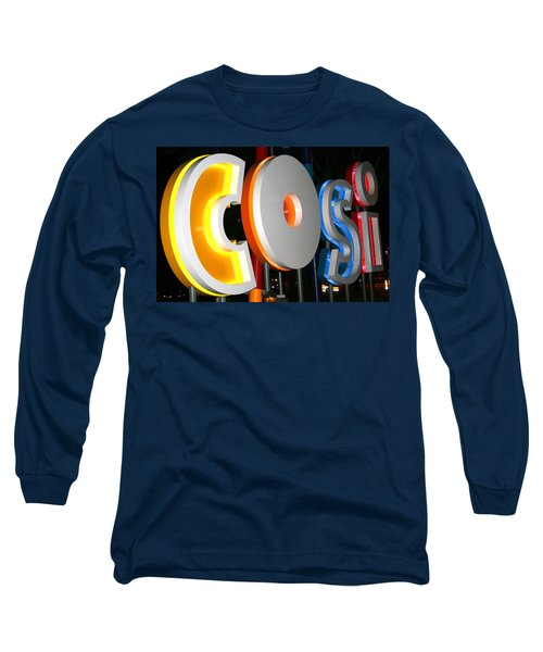 Cosi In Neon Lights Long Sleeve T-Shirt