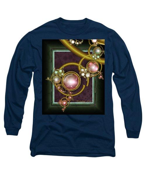 Cosmic Crystals Long Sleeve T-Shirt