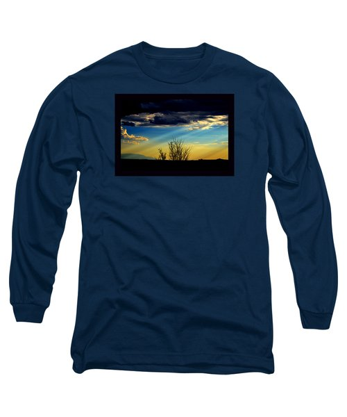 Desert Dusk Long Sleeve T-Shirt by Susanne Still