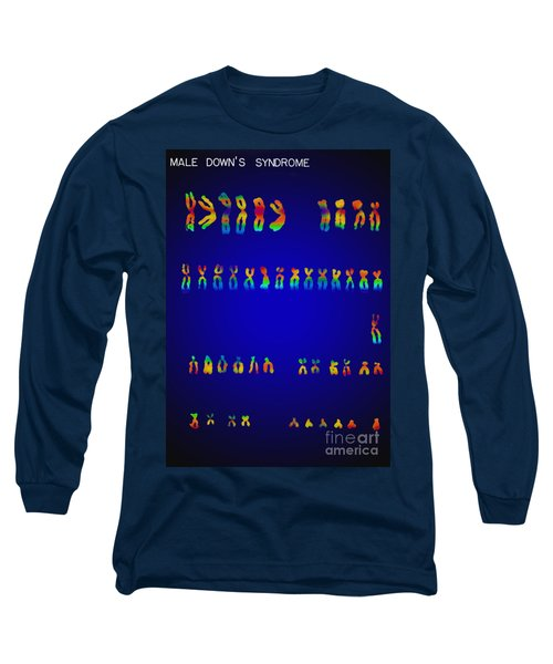 Downs Syndrome Karyotype Long Sleeve T-Shirt