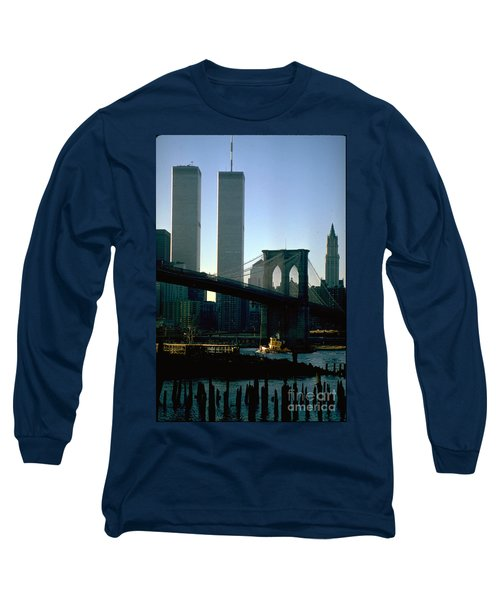 East River Tugboat Long Sleeve T-Shirt