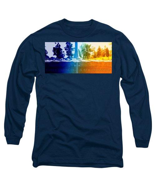 Every Ending Long Sleeve T-Shirt by Lisa Brandel