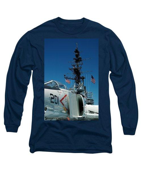 F4-phantom On The Deck Long Sleeve T-Shirt