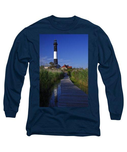 Fire Island Reflection Long Sleeve T-Shirt