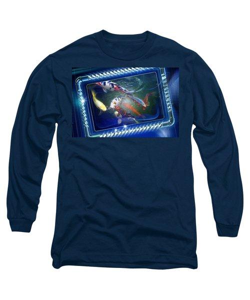 Framed Coy  Long Sleeve T-Shirt