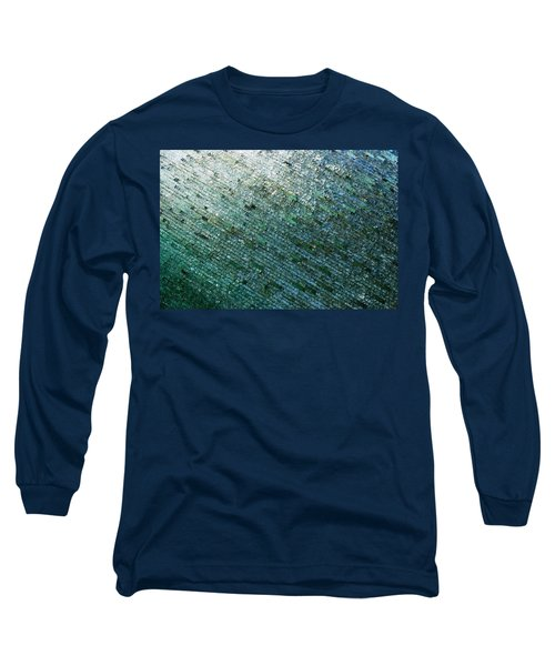 Glass Strata Long Sleeve T-Shirt by Charlie and Norma Brock