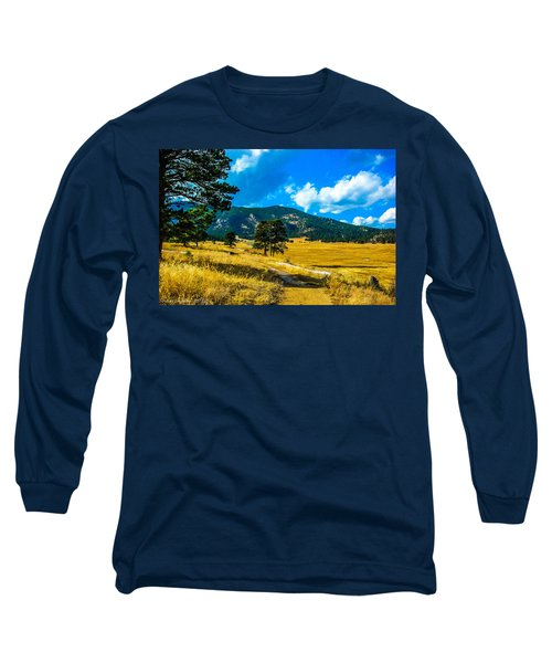 Long Sleeve T-Shirt featuring the photograph God's Country by Shannon Harrington
