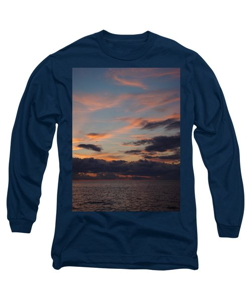 Long Sleeve T-Shirt featuring the photograph God's Evening Painting by Bonfire Photography