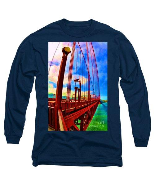 Golden Gate Bridge - 8 Long Sleeve T-Shirt