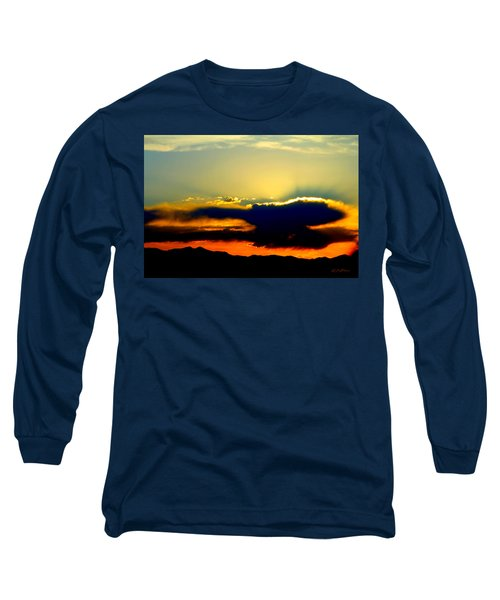 Long Sleeve T-Shirt featuring the photograph Heaven Is Watching by Jeanette C Landstrom
