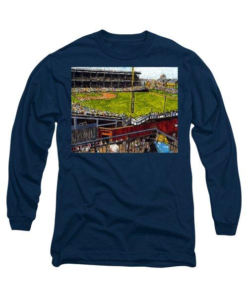 Hey Hey 353 Long Sleeve T-Shirt by Phil Strang