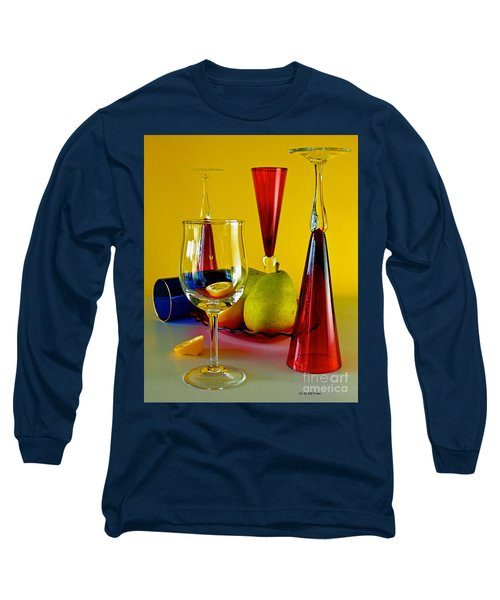 Long Sleeve T-Shirt featuring the photograph Honor To  Mondrian  by Elf Evans