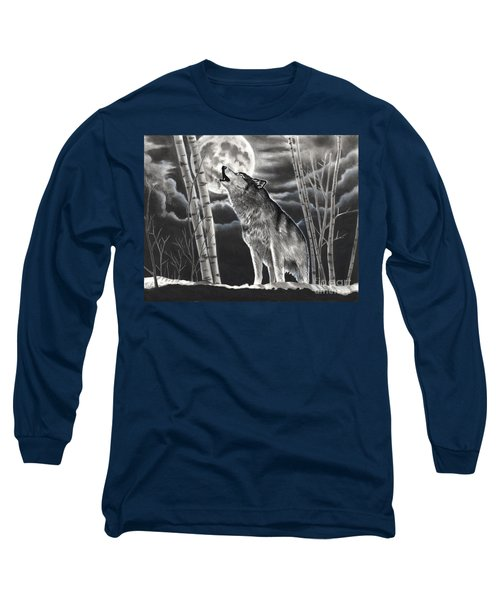Howling At The Moon Long Sleeve T-Shirt