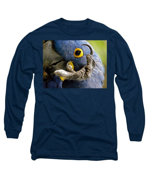 Hyacinth Macaw Long Sleeve T-Shirt