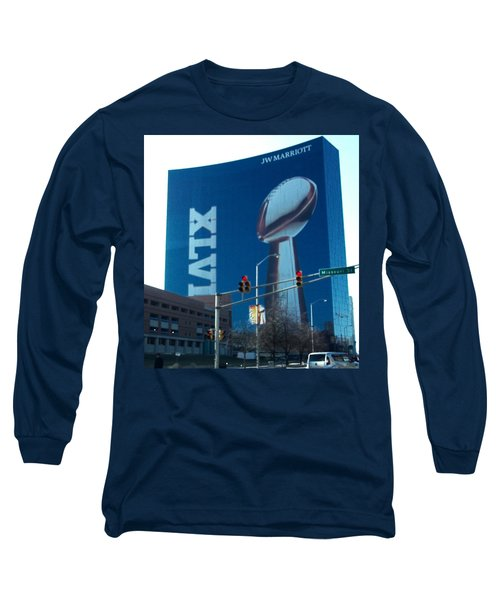Indianapolis Marriott Trubute To Super Bowl 46 Long Sleeve T-Shirt
