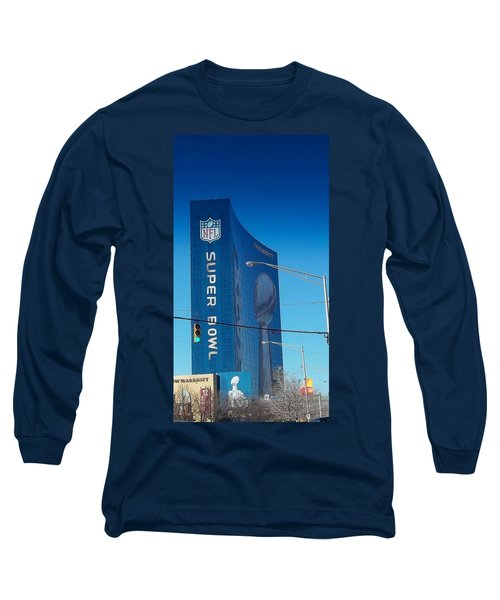 Indianapolis Marriott Welcomes Super Bowl 46 Long Sleeve T-Shirt