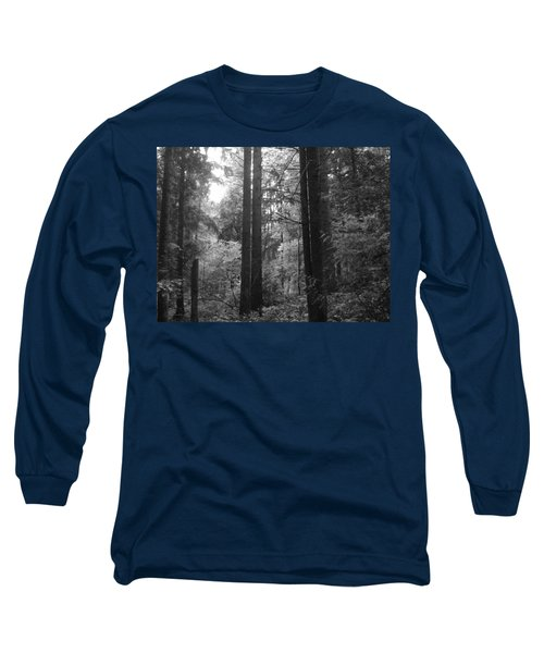 Into The Wood Long Sleeve T-Shirt by Kathleen Grace