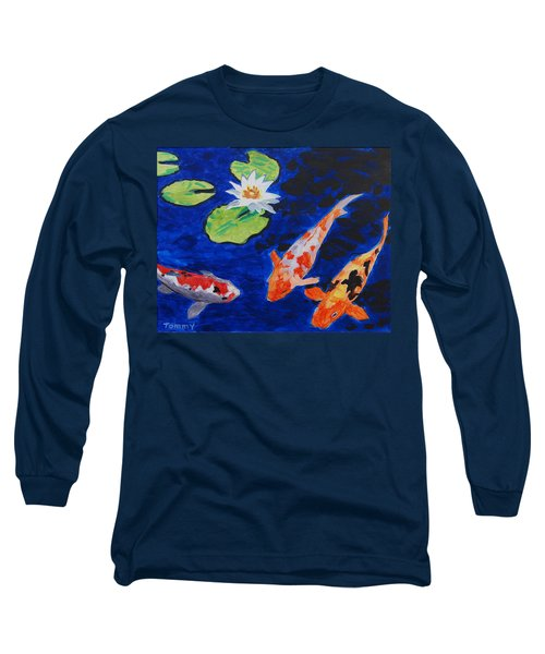 Just Being Koi Long Sleeve T-Shirt