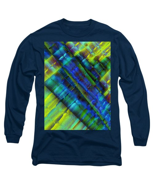 Long Sleeve T-Shirt featuring the photograph Layers Of Blue by David Pantuso