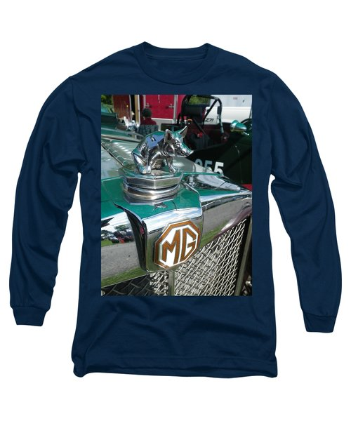 Long Sleeve T-Shirt featuring the painting M G Hood 2 by Anna Ruzsan