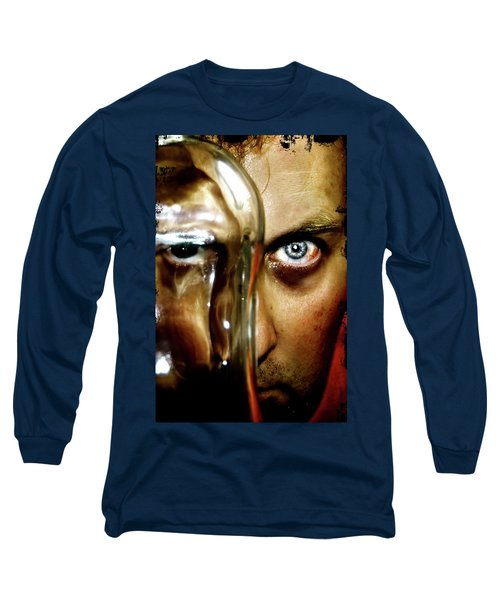 Long Sleeve T-Shirt featuring the photograph Mad Man by Pedro Cardona