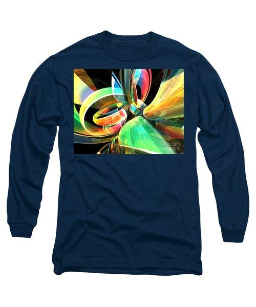 Long Sleeve T-Shirt featuring the digital art Magic Rings by Phil Perkins