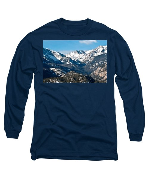Long Sleeve T-Shirt featuring the photograph Majestic Rockies by Colleen Coccia