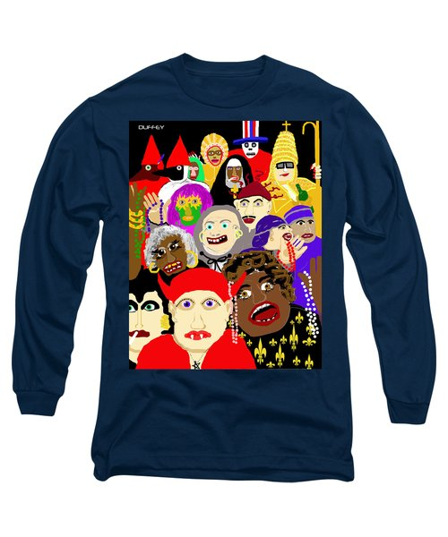 Mardi Gras New Orleans Long Sleeve T-Shirt