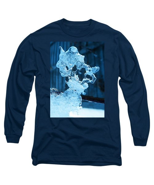Long Sleeve T-Shirt featuring the photograph Meet The Ice Sculpture by Steve Taylor