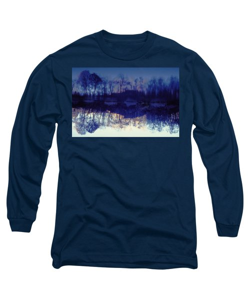 Mirror Pond In The Berkshires Long Sleeve T-Shirt