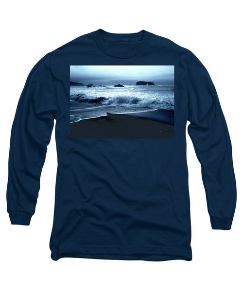 Arch Rock Northern California Coast Long Sleeve T-Shirt