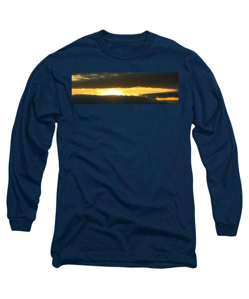 My Cloudy Sunset Long Sleeve T-Shirt