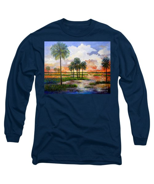 Myakka Sunset Long Sleeve T-Shirt