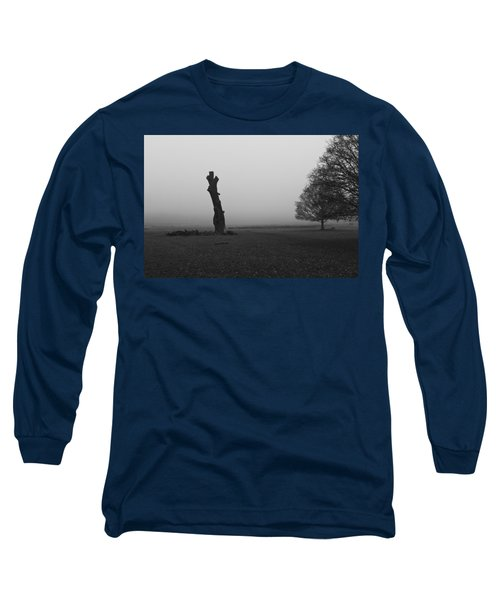 Long Sleeve T-Shirt featuring the photograph Naked Tree by Maj Seda