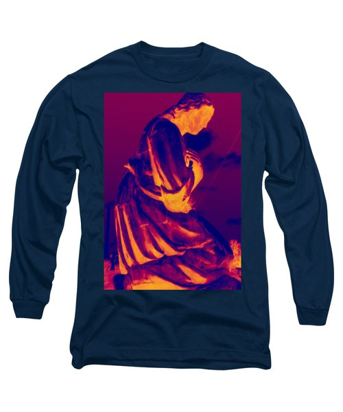 Long Sleeve T-Shirt featuring the photograph Now And At The Hour Of My Death by Lisa Brandel