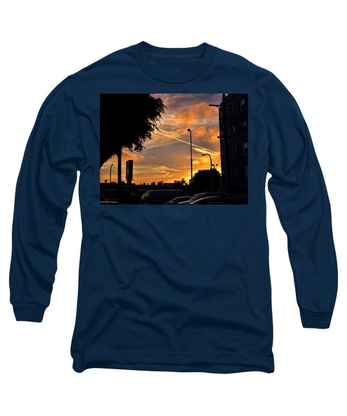 October Sunset 6 Long Sleeve T-Shirt