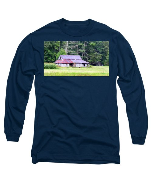 Old Barn Near Cashiers Nc Long Sleeve T-Shirt