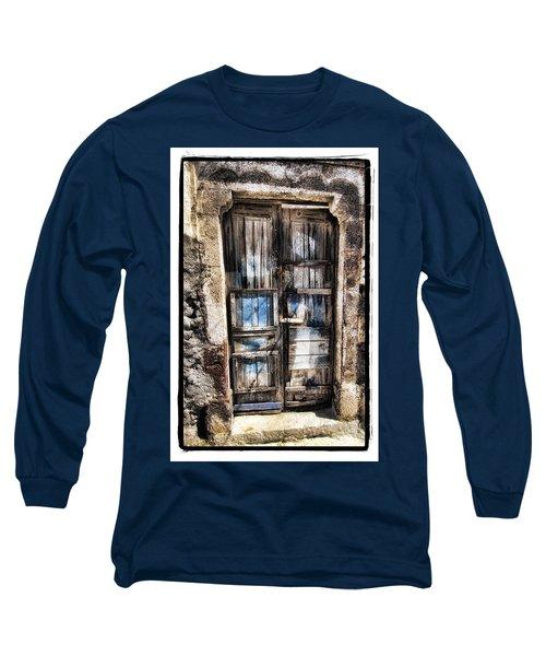 Old Door Long Sleeve T-Shirt