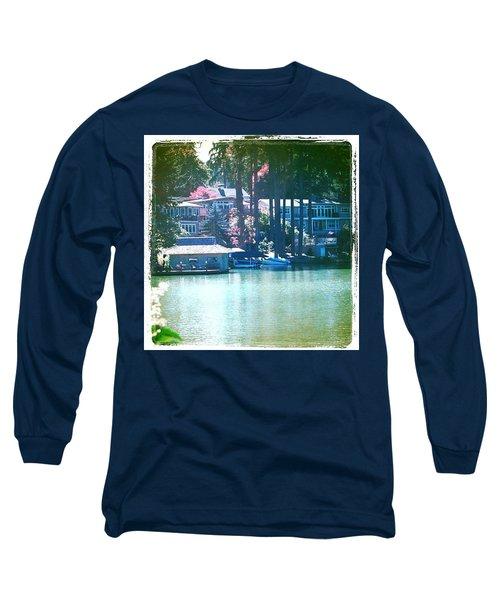 On The Lake - Lake Oswego Or Long Sleeve T-Shirt