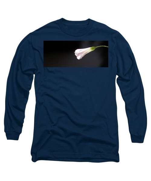 Long Sleeve T-Shirt featuring the photograph Oxalis Bud by Kume Bryant