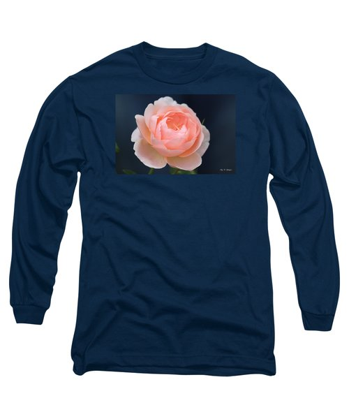 Long Sleeve T-Shirt featuring the photograph Peaches And Cream  by Amy Gallagher