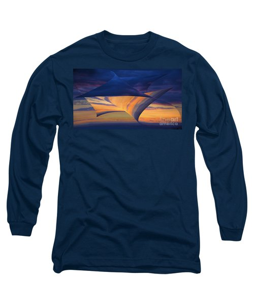 Peeling Back The Layers Long Sleeve T-Shirt by Clare Bambers