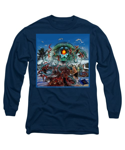 Pollution Shall Thank You Long Sleeve T-Shirt by Tony Koehl
