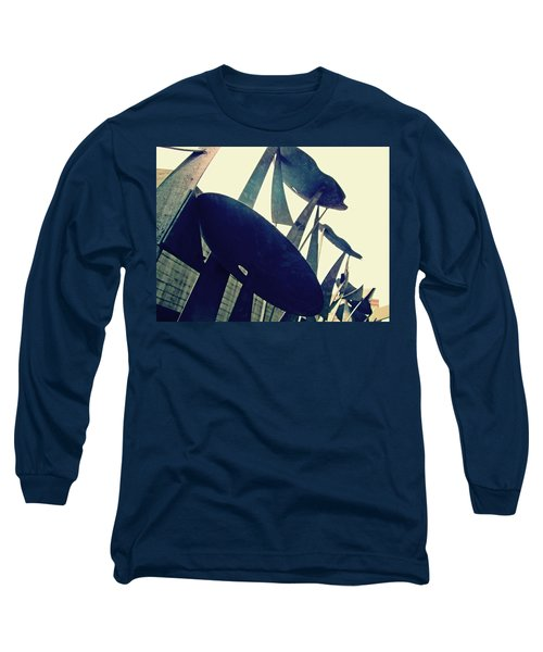 Post Alley Poppies Long Sleeve T-Shirt
